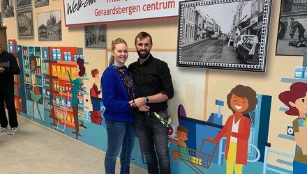 Nieuwe Carrefour market in Geraardsbergen