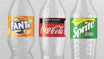Coca-Cola PET van min. 50% gerecycleerd materiaal