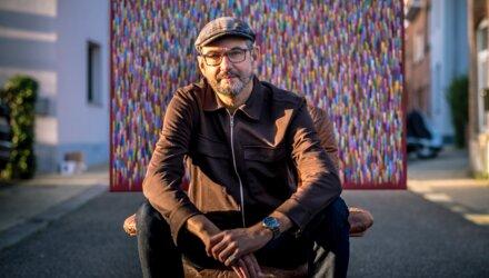 Kunstenaar en collega Bart Persoons