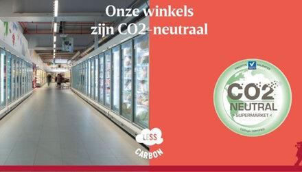 Alle Delhaize-winkels CO₂-neutraal
