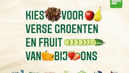 Tv-campagne voor groenten en fruit van bij ons
