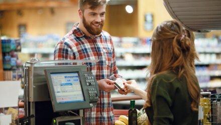 Elektronisch betalen in elke winkel