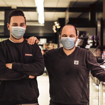 Frank en Maxime Seurs, SPAR Gelinden