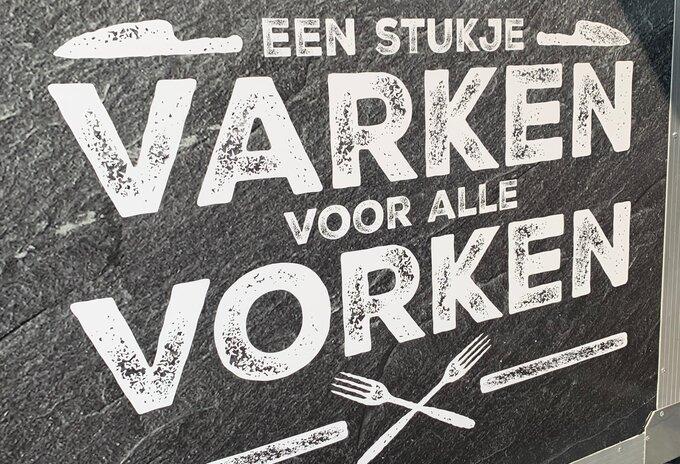 'Varken voor alle vorken' in Spar Bokrijk