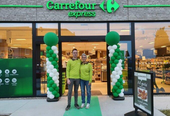 Nieuwe Carrefour Express in Olmen