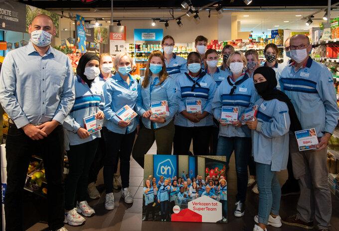 Uitreiking Super Team Albert Heijn Oud-Turnhout