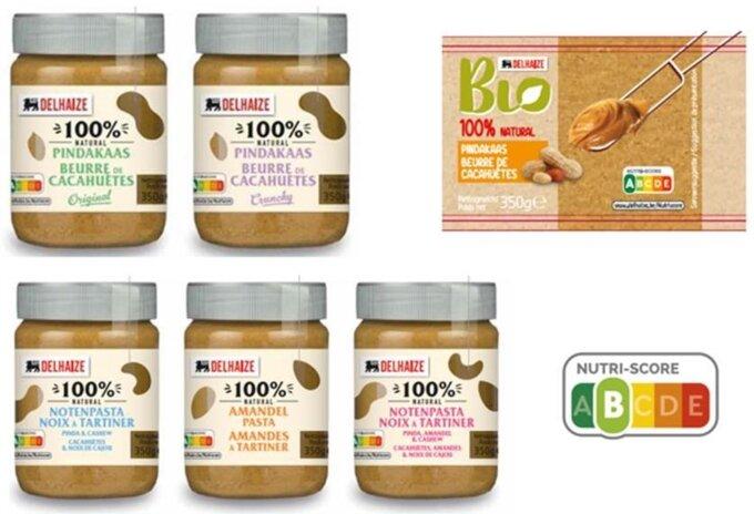 100% natuurlijke notenpasta