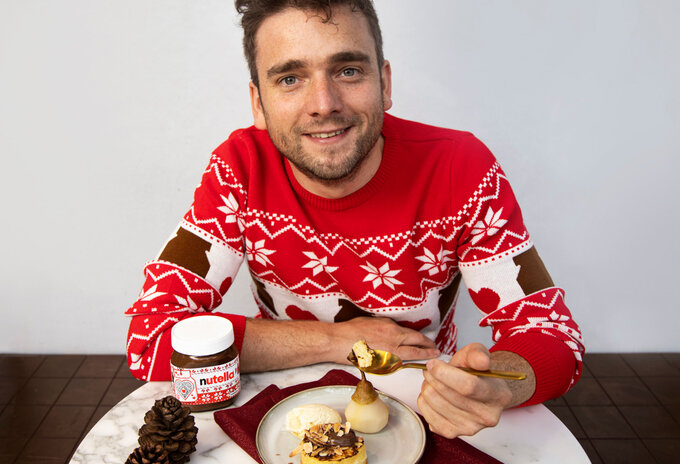 Wim Ballieu & Nutella® inspireren met dessert