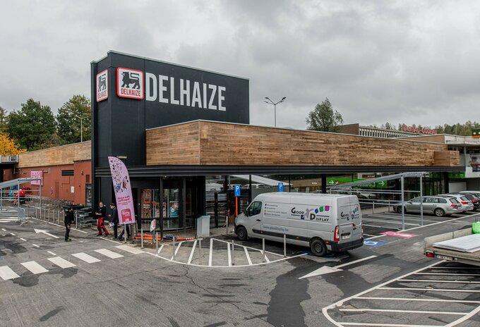 Delhaize-supermarkt Alsemberg vernieuwd