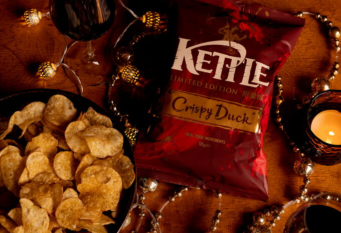 Crispy Duck van Kettle Chips