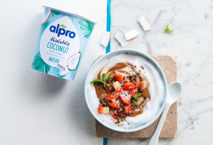 Alpro helpt al 40 jaar kiezen voor plantaardig