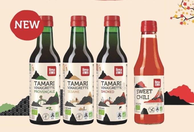 Tamari Vinaigrettes en Sweet Chili Saus