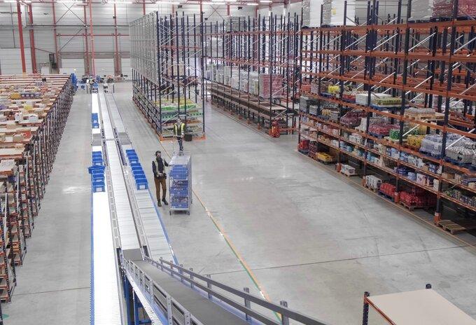 Nieuw e-commerce distributiecentrum operationeel