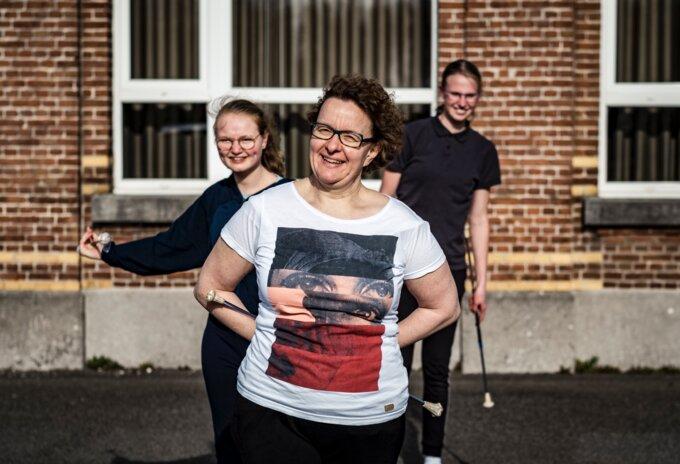 Sandra Konings, kampioene baton twirling
