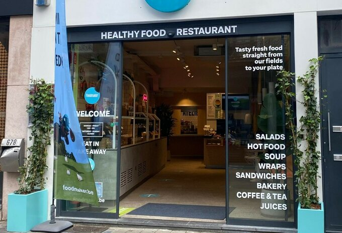 Delhaize opent Foodmaker-restaurants