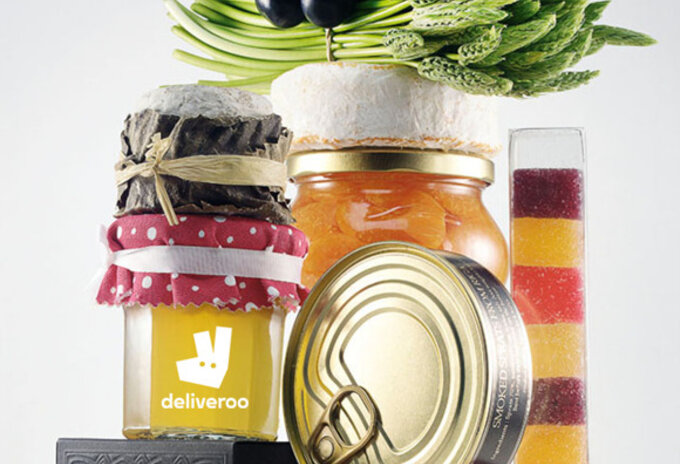 Rob The Gourmets' Market levert via Deliveroo