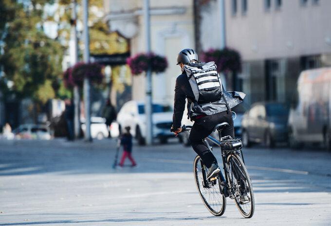Bedreigen supersnelle fietskoeriers supermarkten?