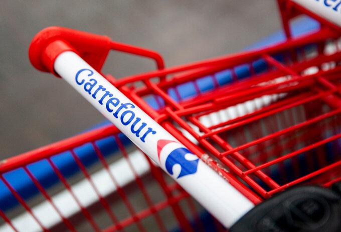 Nog steeds lege rekken bij Carrefour ondanks einde staking